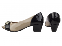 Sapato Peep Toe Alta Villa Shoes